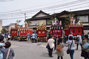 企画展 曳山奉幣祭(ちょんこ山)