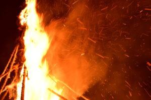 2021年 能登島向田の火祭 中止